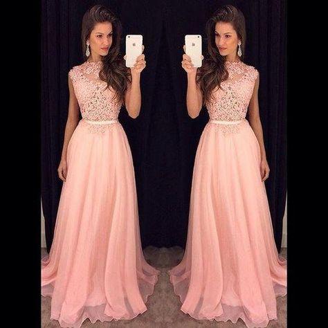f8e513618 Hermosos vestidos largos para fiestas de noche