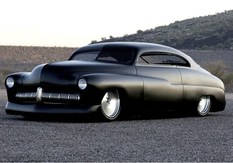 """This is a 1949 Merc """"Lead Sled"""" built by Fesler 49 Mercury, Mercury Cars, Mercury Auto, Lincoln Mercury, Hot Rods, Lead Sled, Transporter, Us Cars, Ford Motor Company"""