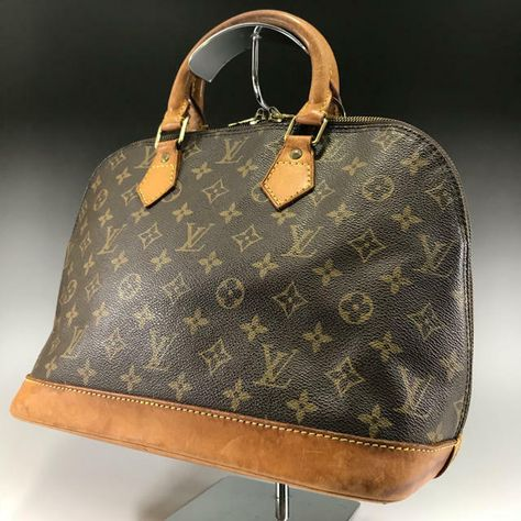 0f00ac61c30 Louis Vuitton Monogram Alma Hand bag brown AK1901192302  fashion  clothing   shoes  accessories