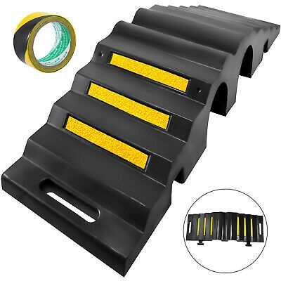 Sponsored Ebay 2 Channel Rubber Cable Protector Ramp Cord Cord Cover Heavy Duty Sturdy Safe Cable Protector Cord Protector Cord Cover