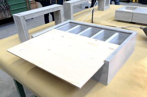 Architekturstudenten Und Azubis Bauen Mobelstucke Aus Beton Coole