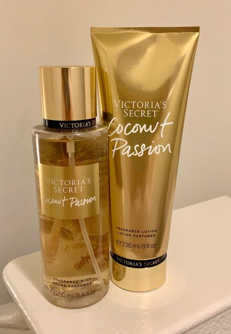 Brand new VS mist & lotion in Coconut Passion. Mist is fl oz & lotion is oz Loción Victoria Secret, Victoria Secret Body Spray, Parfum Rose, Parfum Chanel, Victoria Secret Fragrances, Victoria Secret Perfume, Maquillage Kylie Jenner, Bath And Body Works Perfume, Fragrance Lotion
