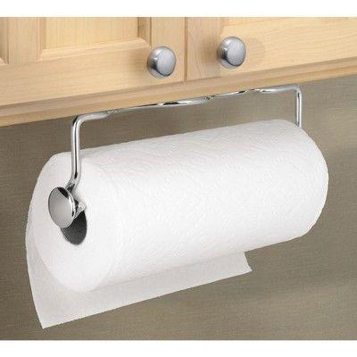 Interdesign Awavio Wall Mount Paper Towel Holder 14 Chrome Paper Towel Holder Towel Holder Paper Towel Crafts