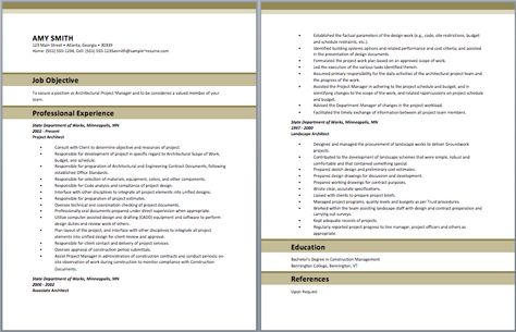Project Architect Resume Architect Resume Samples Pinterest - web architect resume