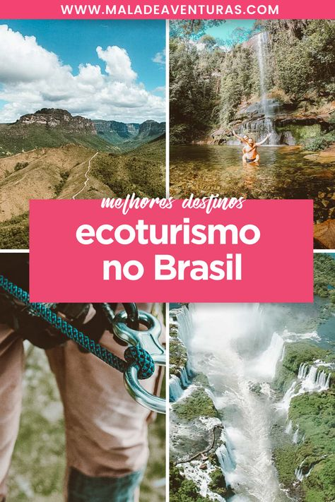 Nada melhor do que viajar e ter contato com a natureza, não é mesmo? E o que não falta por aqui são destinos incríveis para os amantes desse tipo de turismo. Pensando nisso, resolvemos reunir os melhores lugares para ecoturismo no Brasil em um só lugar! #ecoturismo #brasil