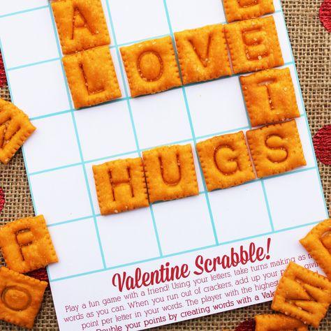 valentine scrabble / positively splendid