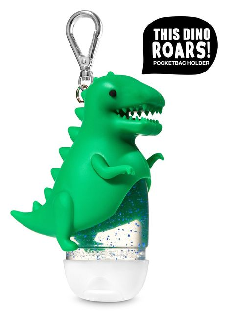 Bath Body Works Roaring Dinosaur Pocketbac Holder Hand