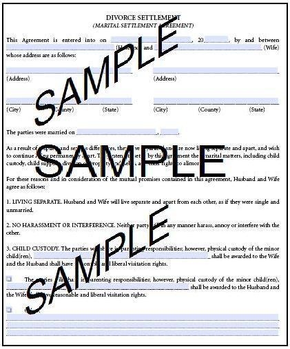 Our website provides free legal forms and templates to download - print divorce papers