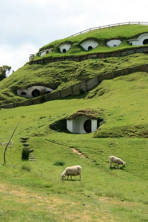 Hobbit home!!! Quite the house!
