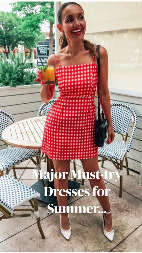 Major Must-try Dresses for Summer...