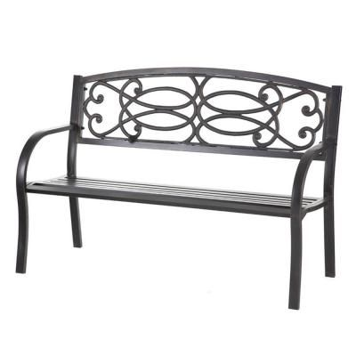 Cape Craftsman 50 5 In Metal Outdoor Garden Bench Metal Garden