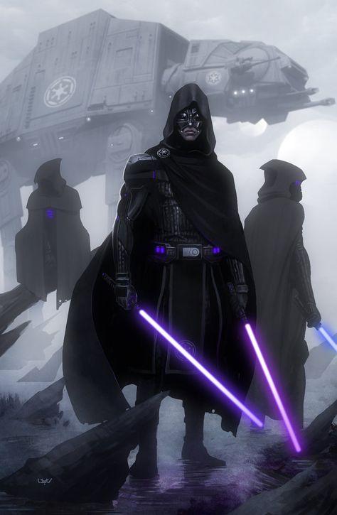 Cool Jedi Hunters Artwork For Star Wars: Episode VII