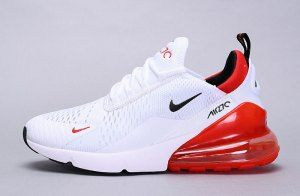 Mens Womens Winter Nike Air Max 270 Flyknit Sneakers Summit ...