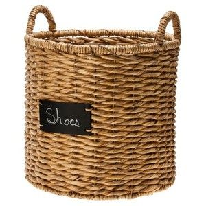 Round basket with TASSELS everywhere to personalize