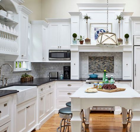 101 Beautiful Beach Cottage Kitchens Kitchen Cabinet Design Kitchen Design Classic White Kitchen