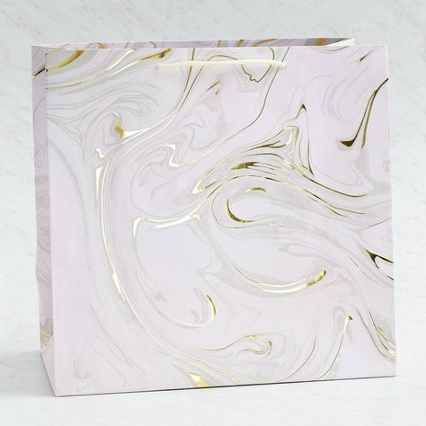 Blush Marble Gift Bags Gift Package Gift Bags Marble Bag