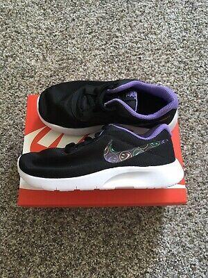 Sponsored Ebay Nib New Nike Girls Space Tanjun Print Shoes Size 10 5 Girls Shoes Black Nike Shoes Nikes Girl