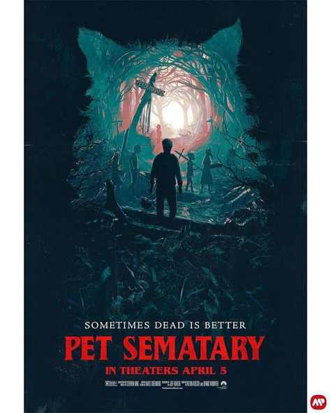 Sometimes Dead Is Better Pet Sematary Amp By Juan Ramos Mr Juandalf For Paramountpics Filmes Terror Desenhos