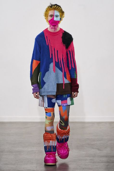 Walter Van Beirendonck Fall 2019 Menswear Fashion Show Collection: See the complete Walter Van Beirendonck Fall 2019 Menswear collection. Look 6