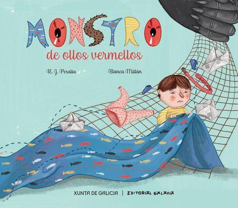 Rede de Bibliotecas de Galicia catálogo › Detalles para: Monstro de ollos vermellos, / R. J. Peralta ; Blanca Millán