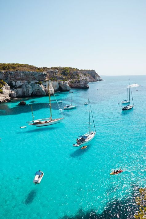 The 10 Best Beaches in Menorca, Spain – Travel Destinations New Travel, Spain Travel, Travel Style, Portugal Travel, Travel Europe, Solo Travel, Budget Travel, Travel Destinations Beach, Places To Travel