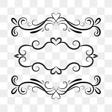 Set Of Vector Vintage Frames On A Transparent Background Style Flower Decor Png And Vector With Transparent Background For Free Download In 2020 Vintage Frames Vintage Photo Frames Background Vintage