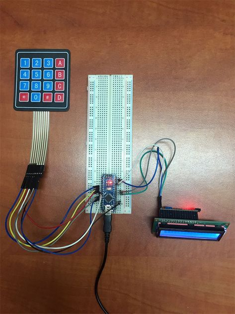 Make Your Own Arduino Rfid Door Lock Mit Bildern Arduino Projekte Arduino Bastelarbeiten
