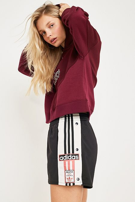 adidas Originals Adibreak 3-Stripe Popper Shorts (With ...