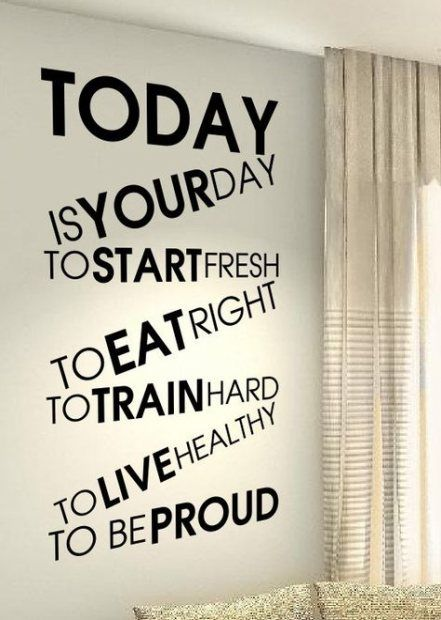 64 Ideas Fitness Room Quotes Wall Art Quotes Fitness Wall Quotes Workout Rooms Quotes