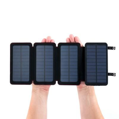 Quadrapro Solar Power Bank With Wireless Dual Usb Charging By Frog Co Solar Power Bank Portable Solar Power Solar Usb Charger