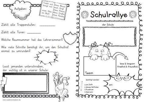 Kleine Schulrallye Zaubereinmaleins Schule Klassenregeln