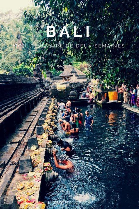 Mon itinéraire à Bali : à la découverte de l'île des Dieux #bali #indonesie #visitbali
