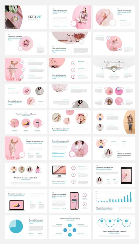 Creative PowerPoint Template. 30+ Total Slides.