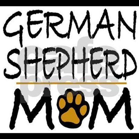 CafePress I Love My German Shepherd Nightshirt