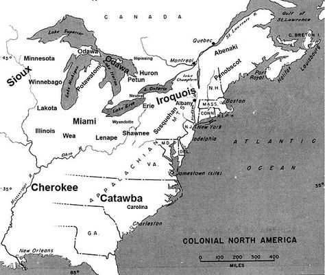 Colonial North America map; shows St. Lawrence River area ... on map of lake st. clair, map of appalachian mountains, map of 45th parallel north, map of ellicott creek, map of cazenovia creek, map of saint francis river, map of new france, map of chesapeake bay, map of saint johns river, map of saint lawrence seaway, map of straits of mackinac, map of saint lawrence gulf, st. lawrence river, map of st. lawrence canada, map of saint clair river, map of lake michigan, map of gulf of california, map of st. lawrence county ny, map of lake george, map of tonawanda creek,