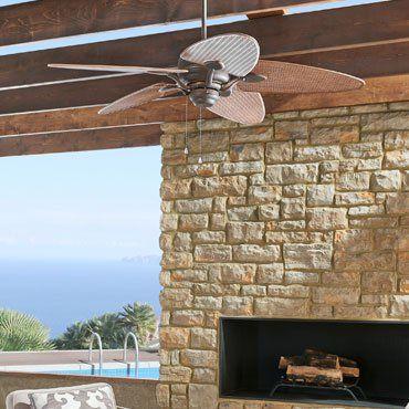 Outdoor Ceiling Fans For Patios Waterproof