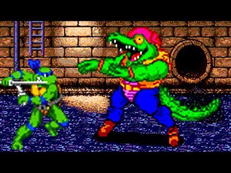 Teenage Mutant Ninja Turtles Genesis All Bosses No Damage Teenage Mutant Ninja Turtles Mutant Ninja Turtles Teenage Mutant Ninja