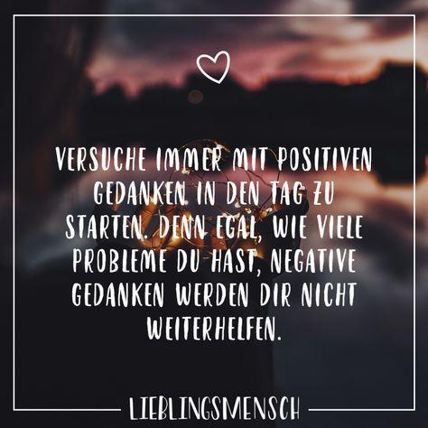 Positive gedanken für den tag