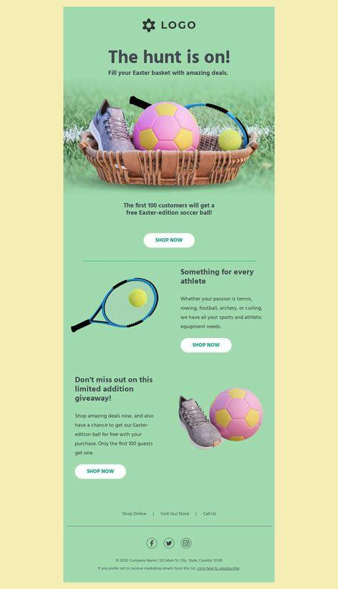 Easter Egg Hunt - Email Template