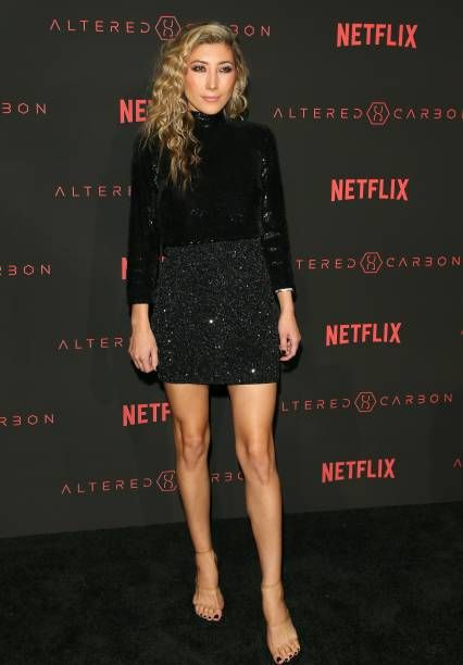 Dichen Lachman Attends The World Premiere Of The Netflix Original