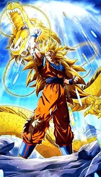Golden Fist Super Saiyan 3 Gokudragon Ball Z Dokkan