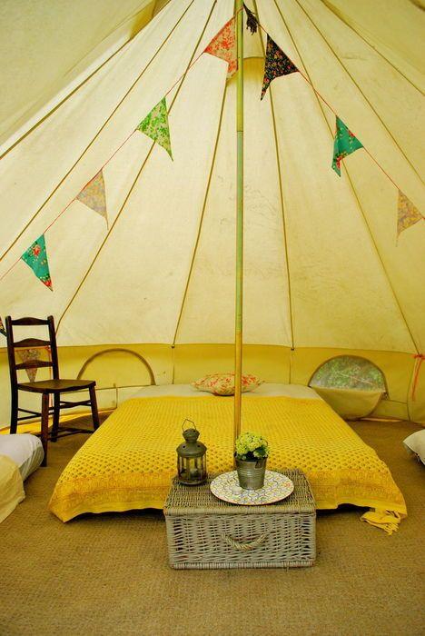 Bell Tent Decor Enter The Den #bell Tent  Hippie And Hot 25Th  Pinterest  Bell