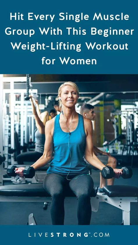 This Beginner Weight-Lifting Workout for Women Hits All Your Major Muscles | Livestrong.com