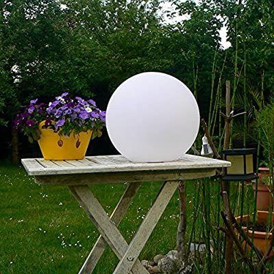 Kabellose Led Leuchtkugel Outdoor Kugellampe 40cm Ball Amazon De Elektronik In 2020 Kugellampe Haus Und Garten Lampe