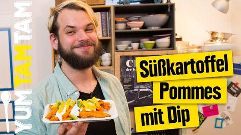Photo of Süßkartoffel-Pommes // mit Käse, Avocado & Mango // #yumtamtam