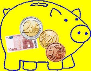 Resultado de imagen de dinero euros primaria