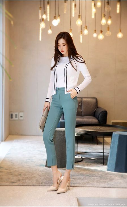 50 Fashionable Pants Ideas For Women You Need To See Korean Fashion Korean Fashion Trends Fashion