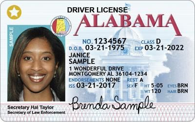 You Need These Documents To Get An Alabama Star Id New Drivers Drivers License Alabama