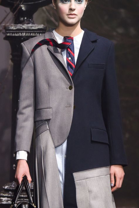 159 details photos of Thom Browne at New York Fashion Week Fall 2016.