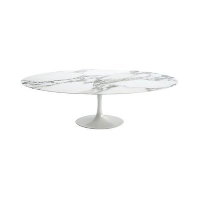 Do You Like These Eero Saarinen Marble Dining Tables They Are Oval Which Could Work Beneath The Cto Lighting Nimbu Table Ovale Table Tulipe Ovale Table Marbre